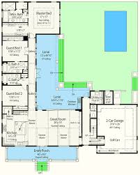 l shaped floor plans net zero ready house plan with l shaped lanai 33161zr