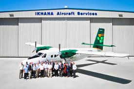 first twin otter x2 delivered ikhana group