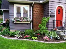 Simple Garden Design Ideas Ranch Style House Landscape Design Clean Front Yard Landscaping