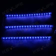Blue Led Lights Strips by 18pcs 12