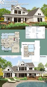 Modern Farmhouse Floor Plans 55 Best Farmhouse Plans Images On Pinterest Dream House Plans