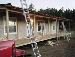 covered porch ideas for mobile homes home design ideas