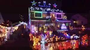 christmas lights cold play family u0027s lavish christmas light display courts controversy