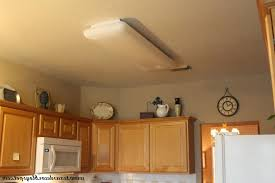 How To Install Kitchen Light Fixture Home Lighting Replace Fluorescent Light Fixture In Kitchen