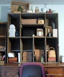 Diy Pallet Computer Desk Picture Charming Retro Home Office by Bring The Art Supplies To The Cottage Http Www Etsy Com Listing