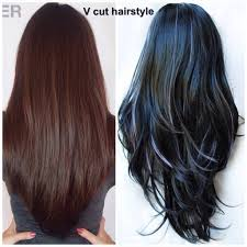 v cut hair styles v style haircut with layers long layered v cut hairstyle long