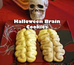 how to make halloween brain cookies youtube