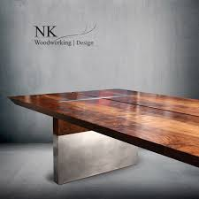 custom wood furniture reclaimed table art seattle u2014 nk