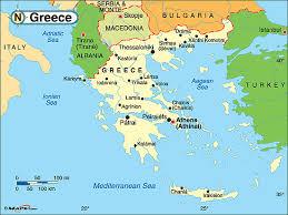 greece map political ancient greece lessons tes teach