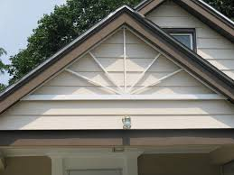 weekend project how to add architectural design to a roof gable