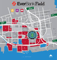 Map Of Jacksonville Florida by Everbank Field Jacksonville Fl Seating Chart View