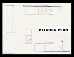 kitchen floorplans opulent design ideas 6 galley kitchen floor plans simple home