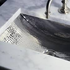 hammered nickel bathroom sink 24 inch artisan hammered nickel undermount bathroom sink free