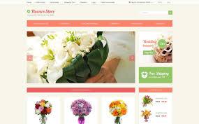flower store flower store opencart template 49087