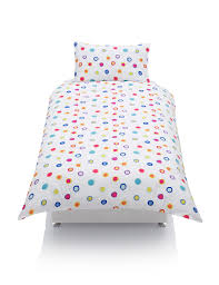 pure cotton spotted bedding set m u0026s