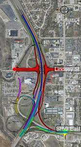 Illinois Road Construction Map by Oklahoma Department Of Transportation I 35 Sh 9 Lindsey Street