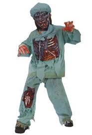 Halloween Scary Costumes Dark Zombie Child Zombies Zombie Makeup