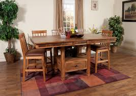 1177ro sedona butterfly dining table w slate 1424ro chairs sunny