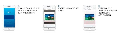App For Scanning Business Cards Citi Launches Credit Card Scanning Ability Within Mobile App