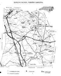 Map Grant Duplin County Maps