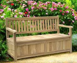 storage bench with arms teak garden upholstered uk u2013 doozo info