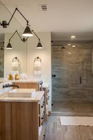 hgtv bathrooms ideas fixer joanna gaines concrete countertops and mid century