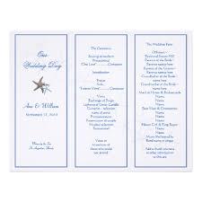 Tri Fold Wedding Program 8 Best Images Of Program Brochure Examples Youth Program