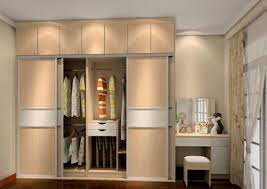awesome wardrobe with dressing table designs for bedroom indian 75