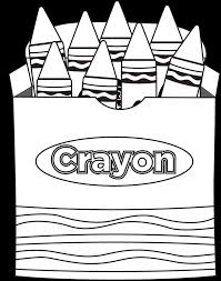 coloring pages of crayons fablesfromthefriends com