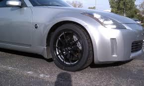 nissan 350z black rims milligram konig wheels