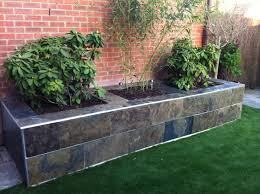 raised garden edging home design ideas