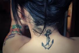back anchor tattoos new trends for back of neck tattoo ideas