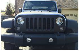 jeep grill icon how to install a barricade matte black grille cover on your 2007