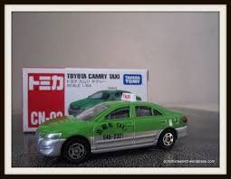 tomica toyota china special cn 02 u2013 toyota camry taxi tomica world