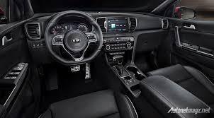 kia sportage black all new kia sportage arrive with 2 interior options which one do