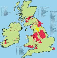Map Of The British Isles Coal Mining In The British Isles Northern Mine Research Society