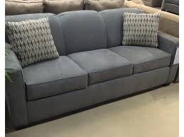 klaussner gillis contemporary dreamquest queen sleeper sofa with
