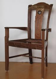 handmade greene and greene dining room chairs by paula garbarino