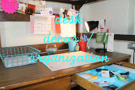 home decor organizing decorating your desk elodie youtube