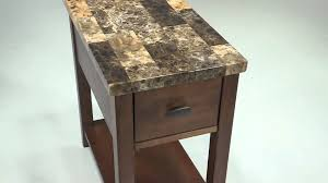 Chair Side End Table Breegin Chair Side End Table From Signature Design By Ashley Youtube