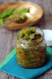 Indian Style - green chilli pickle recipe indian style hari mirch ki achar