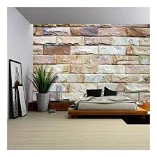 Amazoncom wall26  Stone Wall Texture  Removable Wall Mural