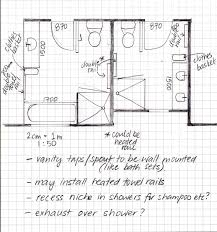 Simple Floor Plans With Dimensions commercial bathroom floor plans 2 storey commercial building