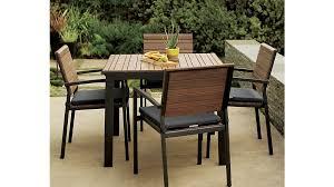 Crate And Barrel Dining Table Rocha Sunbrella Dining Chair Bar Stool Cushion Crate And Barrel