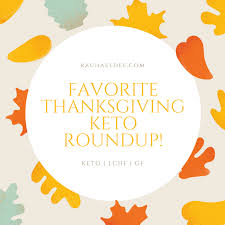favorite thanksgiving keto roundup for low carb