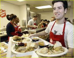 thanksgiving army big time rush thanksgiving at salvation army photo 450286