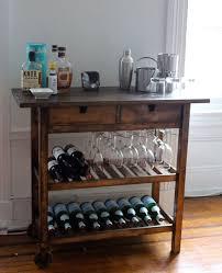 kitchen island cart ikea 14 inspiring diy bar cart designs and makeovers ikea bar cart