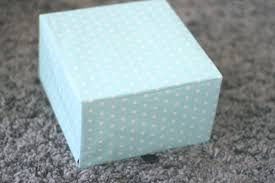 wrapping paper box jewellery box bettymariastyle