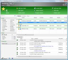 wedding planning software elm software ido wedding and event professional edition