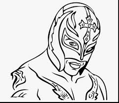 excellent the rock wwe printable coloring pages with wwe coloring